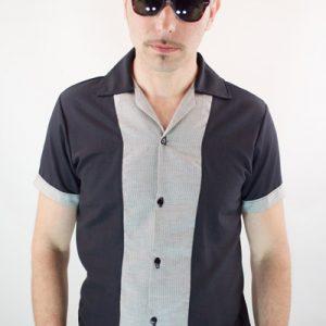 Camisa Tejuelas de manga corta para hombre